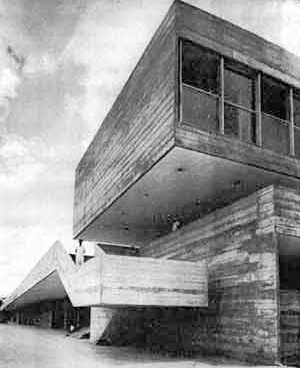 Clube Paineiras, São Paulo, 1960, arquiteto Carlos Millan [Acrópole, set. 65, p.29]