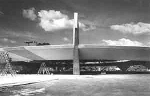 Clube Atlético Paulistano, São Paulo, 1958, arquitetos Paulo Mendes da Rocha e João de Gennaro [Arquivo Paulo Mendes da Rocha]