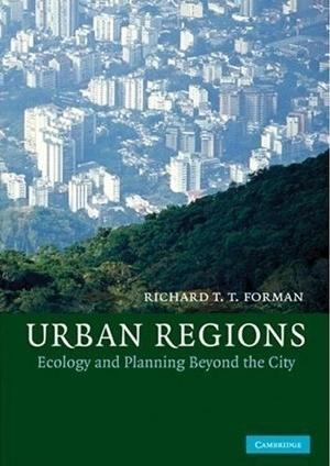 Capa de Urban Regions, último livro de Richard Forman