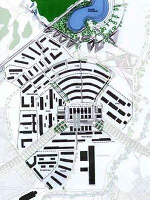 Solar City, Linz, projeto de Herbert Dreiseitl [www.linz.at/leben/4689.asp]
