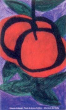 """Cartaz do programa """"Uma fruta no quintal"""", da Prefeitura de Diadema [Detalhe da capa]"""
