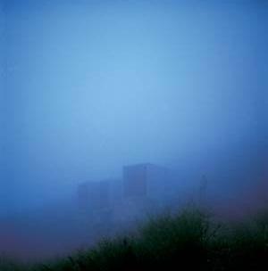 Cementerio de Finisterre, La Coruña, 2002. Arquitecto César Portela