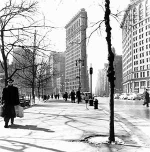 Flatiron building. Nueva York. Estados Unidos<br />Foto Mário José Buschiazzo