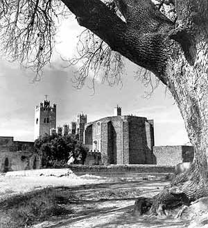 Convento de Actopan. México<br />Foto Mário José Buschiazzo
