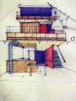 Projeto para um loft em Ann Arbor