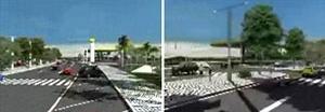 """Estrutura viária, passeios, paisagismo, mobiliário urbano e demais elementos urbanísticos do Portal da Amazônia pretendem conferir melhoria da """"qualidade de vida"""" dos moradores da cidade.  [O Liberal, 29 dez. 2006]"""