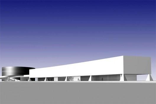 Museu do Cinema, arquiteto Oscar Niemeyer