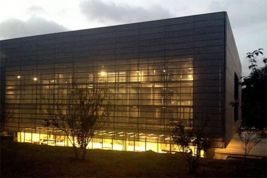 Biblioteca Brasiliana Guita e José Mindlin, Campus USP, São Paulo. Arquitetos Eduardo de Almeida e Rodrigo Mindlin Loeb<br />Foto Abilio Guerra