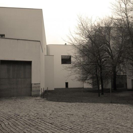 Vista posterior do Museu de Serralves, Porto<br />Foto Ney Zillmer Neto