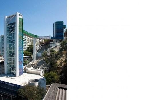 Mirante da Paz – Complexo Elevador Rubem Braga, Rio de Janeiro. Arquiteto João Batista Martinez Corrêa<br />Foto Celso Brando