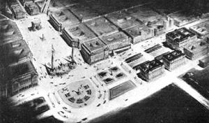 Projetos de transformação de Plaza de Mayo, 1935