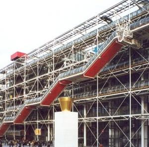 """Centro Cultural Georges Pompidou, o """"Beaubourg"""", Paris<br />Foto Angela Moreira"""