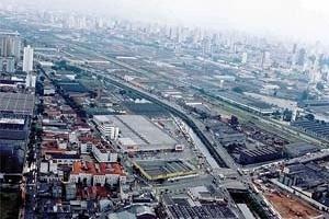 Operação Urbana Diagonal Sul. Situações e condições de uso e ocupação da área<br />Imagem do arquivo de SEMPLA/PMSP