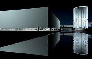 Olimpíada Paris 2008. Projeto de Paulo Mendes da Rocha