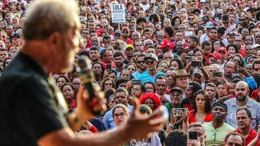 Lula discursa no Festival da Juventude em Cruz das Almas BA, em 2017<br />Foto Ricardo Stuckert  [divulgação]