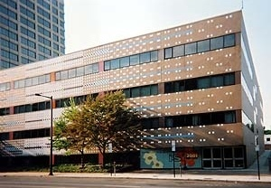 Escritórios do Institute for Scientific Information, Filadelfia, 1978. Venturi & Scott Brown<br />Foto Fernando Diniz Moreira