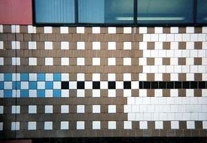 Escritórios do Institute for Scientific Information, detalhe, Filadelfia, 1978. Venturi & Scott Brown<br />Foto Fernando Diniz Moreira