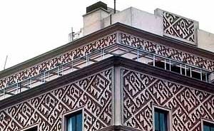 14. Enrique Seoane Ros. Detalle del Edificio Wilson (1945-46). Lima (Perú).