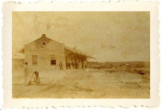 Estação da Sorocabana de Bauru, 1906<br />Imagem divulgação  [website Estações Ferroviárias]