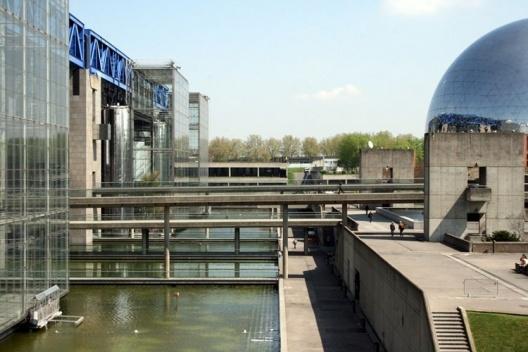 Cidade das Ciências e da Indústria, Parque La Villette, Paris. Arquiteto Adrien Feinsilber<br />Foto Helena Guerra