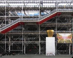 Centro Georges Pompidou (Beaubourg), Paris. Arquitetos Renzo Piano e Richard Rogers<br />Foto Victor Hugo Mori