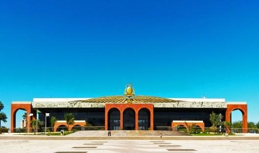 Palácio Araguaia, sede do governo do Estado do Tocantins, Palmas, 2016<br />Foto Leonardo Dimitry S. Guimarães