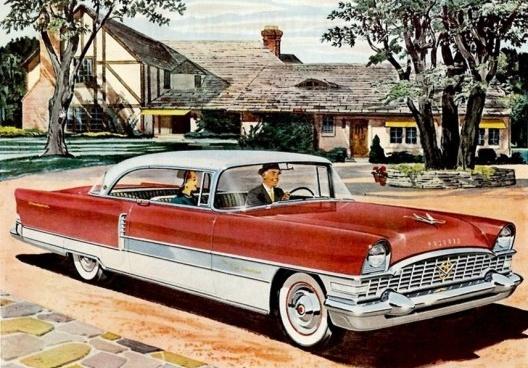 """Anúncio do carro """"The New Packard"""", detalhe<br />Imagem divulgação"""