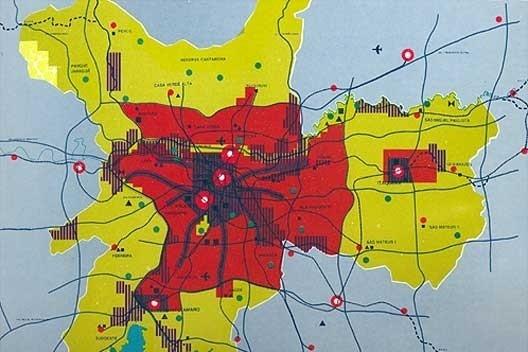 Plano Urbanístico Básico – PUB, Município de São Paulo, 1968