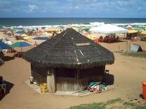 Barraca Cor do Sol, praia de Armação - Salvador, BA [Foto do autor]