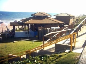 Barraca do Luciano, praia de Pituaçu -Salvador, BA<br />Foto do autor