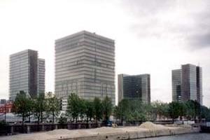 Biblioteca Nacional, arquiteto Dominique Perrault (série grandes obras). <br />Foto AG