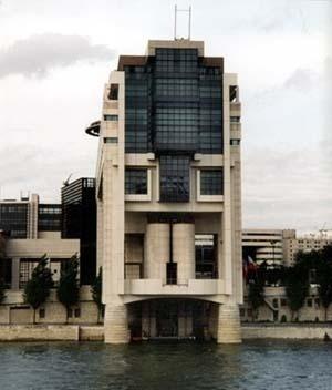 Ministério das Finanças da França, arquitetos Chemetov e Huidobro (série grandes obras). <br />Foto AG