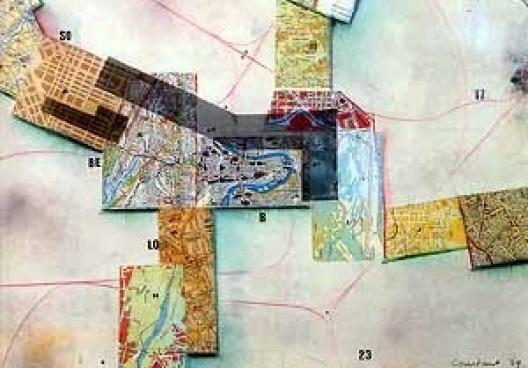Nova Babilonia, Constant Nieuwenhuys, 1969, Colagem