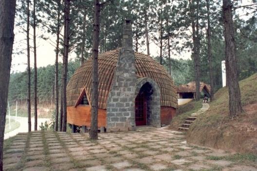 Residência Itapevi, Oficina de Arquitetura, 1981<br />Foto Vitor Lotufo