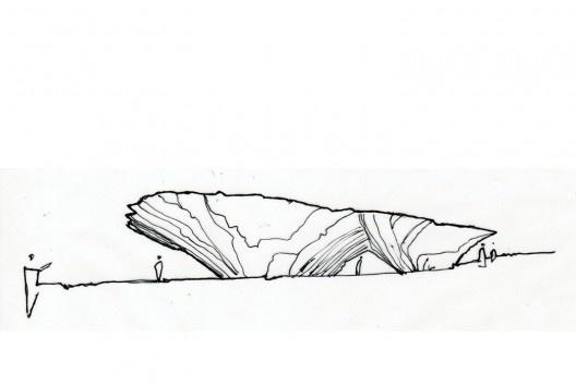 Centro de Artes Tippet Rise, 2016<br />Ilustração André Prevedello, 2021