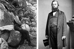 John Muir(esquerda) / George Perkins Marsh (direita)  [en.wikipedia.org/wiki/John_Muir / en.wikipedia.org/wiki]
