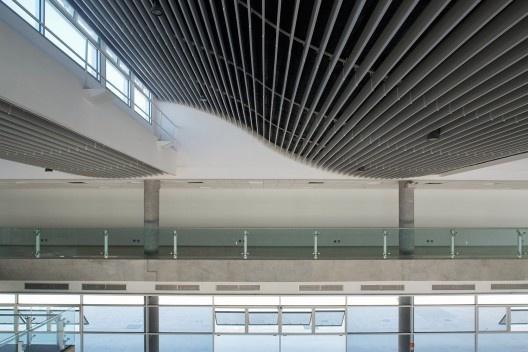 Parque da Juventude, São Paulo, arquitetura escritório Aflalo & Gasperini<br />Foto Nelson Kon