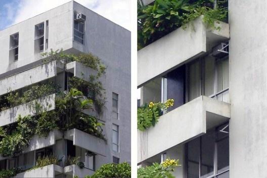 Edifício Villa Mariana, Recife. Arquiteto Wandenkolk Walter Tinoco<br />Foto divulgação  [Acervo WWT]