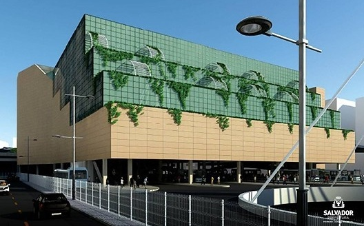 Novo Shopping Center junto a Estação da Lapa, Salvador<br />Imagem divulgação  [website da Prefeitura de Salvador]