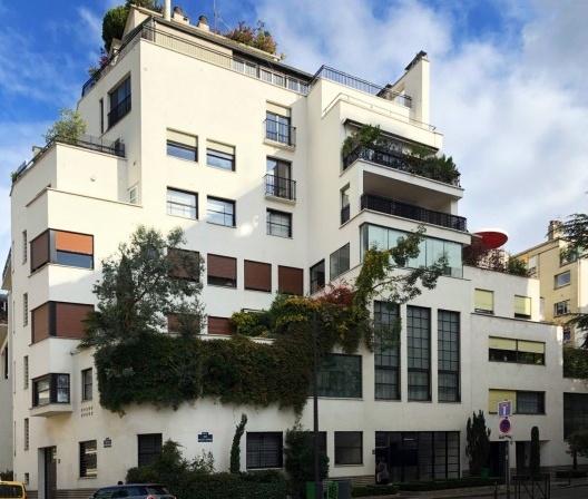 Hotel Martel, Paris, França, 1927. Arquiteto Mallet Stevens<br />Foto Livia Frossard Barbosa