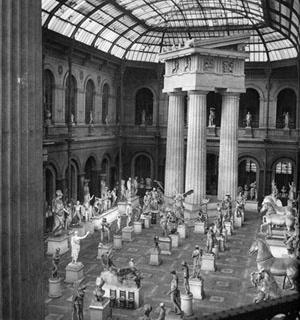 Pátio do Museu de Calcos