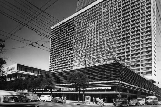 Na década de 60, o Restaurante Fasano localizava-se na Avenida Paulista, no Conjunto Nacional. Foto: Divulgação.