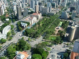 Praça da Liberdade. Vista de cima [www.voxmidia.com.br]
