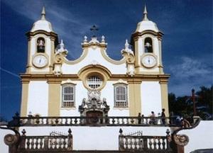 Matriz de Santo Antônio, em Tiradentes - MG, principal. Referência Histórica da Cidade considerada a 2ª mais rica do país [acervo do autor]