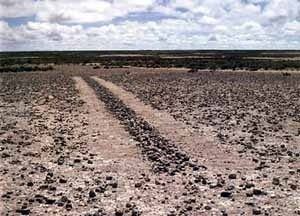 "Richard Long, ""A line in the Bolivia"", 1981 [www.richardlong.org]"