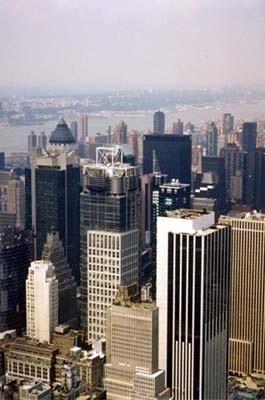 Nova York, Times Square visto do Empire State<br />Foto divulgação  [www.aviewoncities.com]