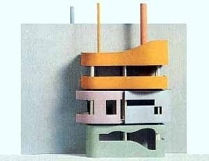 Wall House (Wall series, 1973), modelo [http://www.kmtspace.com/]