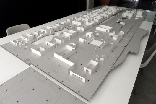 Modelo de estudos para a 30ª Bienal de Arte de São Paulo. Arquitetura: Metro <br />Foto Metro