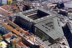Ampliación del Museo Reina Sofía, simulación, arquiteto Jean Nouvel