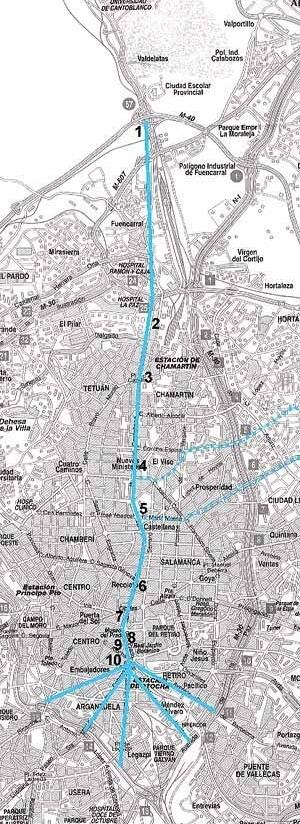 PlanoGeneral de la Castellana